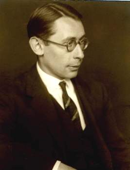 """Hans Gál (Brunn near Vienna 1890 – Edinburgh 1987) was a composer trained at the New Vienna Conservatory, where he later taught. Following considerable success in the 1920s, Gál was appointed Director of the Conservatory in Mainz, where he remained until his instant dismissal in 1933 and the subsequent banning of his works by the Nazis. Emigrating to Britain, Gál finally settled in Edinburgh at the outbreak of war. Along with all other non-British nationals he was interned as an """"enemy alien"""" in March 1940. During this imprisonment he wrote the Huyton Suite for two violins and flute, the only instruments available in the camps. He later wrote What a Life, a music revue based on his camp experiences. For the remaining forty years of his life, Gál was productive as a teacher, scholar and composer at the University of Edinburgh. Listen to audio samples of Gál's work (hyperlink to: http://www.hansgal.com/audio-eng.html) Image credit: Courtesy of The Hans Gál Society)"""