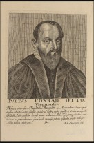 Julius Conradus Otto, who held the Chair of Hebrew and Oriental Languages at the University of Edinburgh from 1641. (Image courtesy of the Jewish Museum London)
